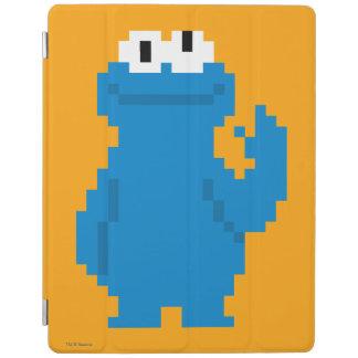 Cookie Monster Pixel Art iPad Cover