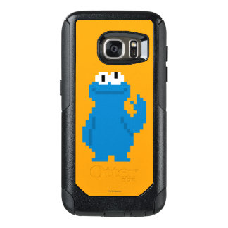 Cookie Monster Pixel Art OtterBox Samsung Galaxy S7 Case