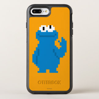 Cookie Monster Pixel Art OtterBox Symmetry iPhone 8 Plus/7 Plus Case