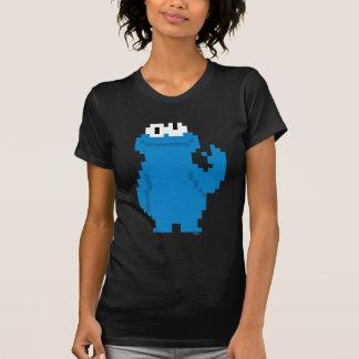 Cookie Monster Pixel Art T-Shirt