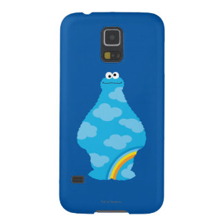 Cookie Monster Rainbows Cases For Galaxy S5