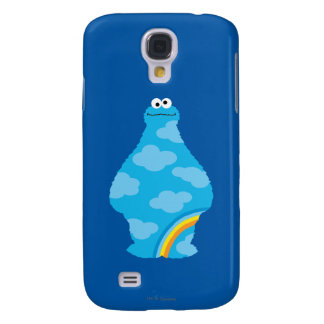 Cookie Monster Rainbows Galaxy S4 Case