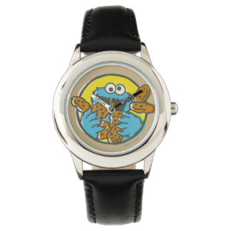 Cookie Monster Retro Watch