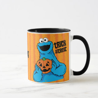 Cookie Monster - Trick Or Treat | Add Your Name Mug