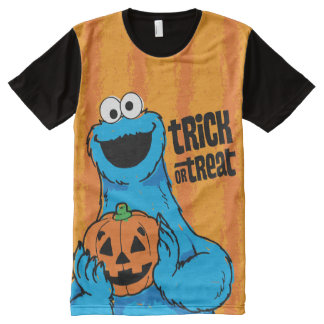 Cookie Monster - Trick Or Treat All-Over Print T-Shirt