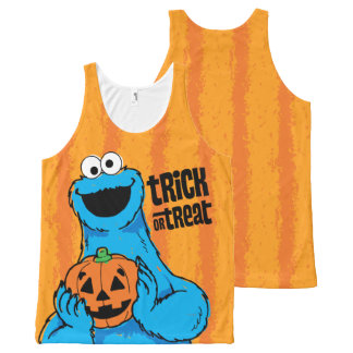 Cookie Monster - Trick Or Treat All-Over Print Tank Top