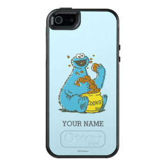 Cookie Monster Vintage | Add Your Name OtterBox iPhone 5/5s/SE Case
