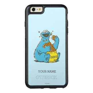 Cookie Monster Vintage | Add Your Name OtterBox iPhone 6/6s Plus Case