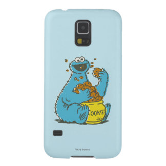 Cookie Monster Vintage Cases For Galaxy S5