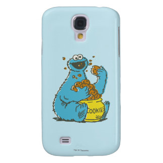 Cookie Monster Vintage Galaxy S4 Case
