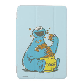 Cookie Monster Vintage iPad Mini Cover