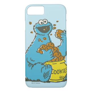 Cookie Monster Vintage iPhone 8/7 Case