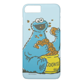Cookie Monster Vintage iPhone 8 Plus/7 Plus Case
