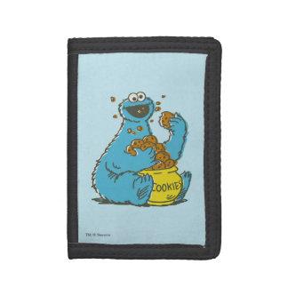 Cookie Monster Vintage Tri-fold Wallet