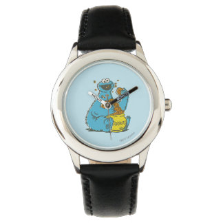 Cookie Monster Vintage Wrist Watches
