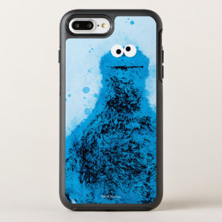 Cookie Monster | Watercolor Trend OtterBox Symmetry iPhone 8 Plus/7 Plus Case