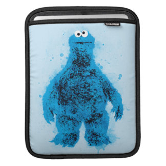 Cookie Monster | Watercolor Trend Sleeves For iPads