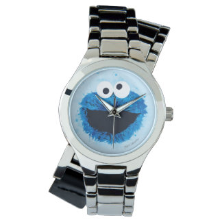 Cookie Monster | Watercolor Trend Wristwatches