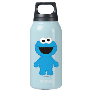 Cookie Monster Wool Style Insulated Water Bottle