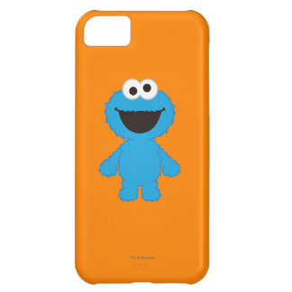 Cookie Monster Wool Style iPhone 5C Case