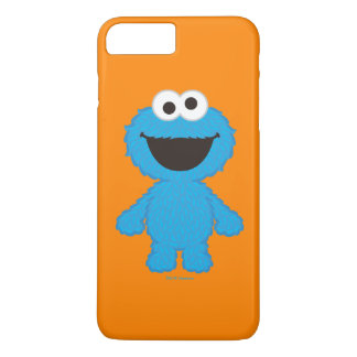 Cookie Monster Wool Style iPhone 8 Plus/7 Plus Case