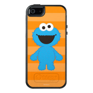 Cookie Monster Wool Style OtterBox iPhone 5/5s/SE Case
