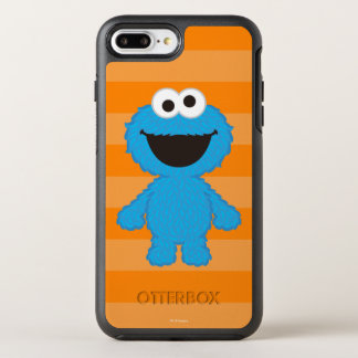 Cookie Monster Wool Style OtterBox Symmetry iPhone 8 Plus/7 Plus Case