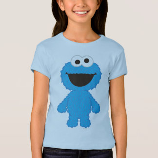 Cookie Monster Wool Style T-Shirt