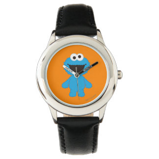 Cookie Monster Wool Style Wrist Watches