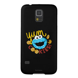 Cookie Monster Yum Cases For Galaxy S5