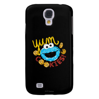 Cookie Monster Yum Galaxy S4 Case