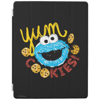 Cookie Monster Yum iPad Cover