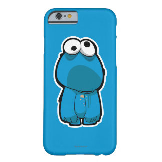 Cookie Monster Zombie Barely There iPhone 6 Case