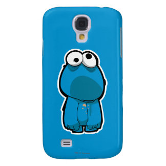 Cookie Monster Zombie Galaxy S4 Case