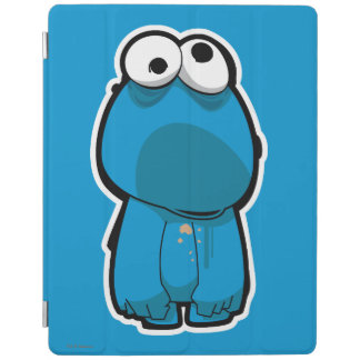 Cookie Monster Zombie iPad Cover