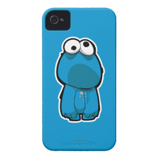 Cookie Monster Zombie iPhone 4 Covers