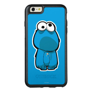Cookie Monster Zombie OtterBox iPhone 6/6s Plus Case