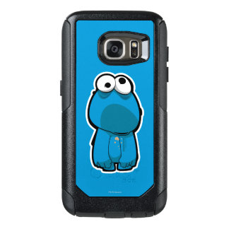 Cookie Monster Zombie OtterBox Samsung Galaxy S7 Case