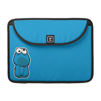 Cookie Monster Zombie Sleeve For MacBooks