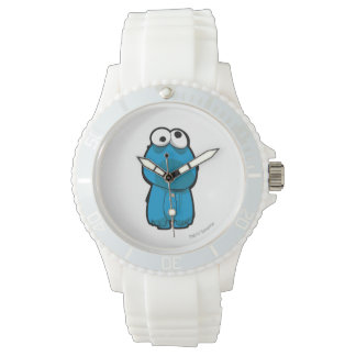 Cookie Monster Zombie Wrist Watches