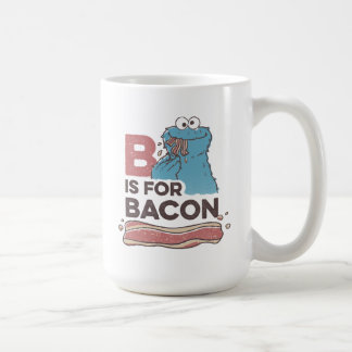 Cookie MonsterB is for Bacon Coffee Mug