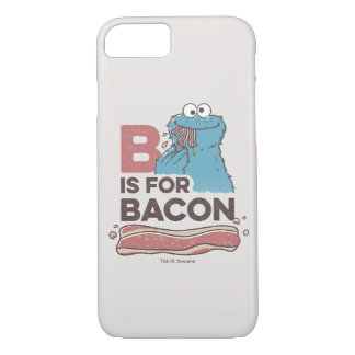 Cookie MonsterB is for Bacon iPhone 7 Case