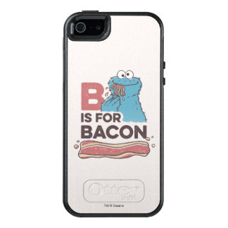 Cookie MonsterB is for Bacon OtterBox iPhone 5/5s/SE Case