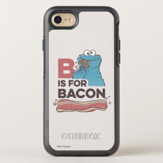 Cookie MonsterB is for Bacon OtterBox Symmetry iPhone 7 Case
