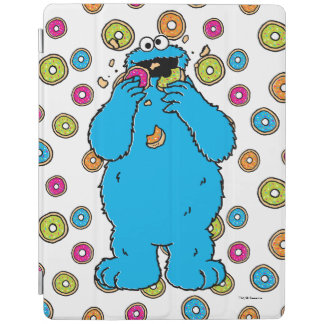 Cookie MonsterDonut Destroyer iPad Cover