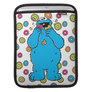 Cookie MonsterDonut Destroyer iPad Sleeve