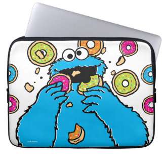 Cookie MonsterDonut Destroyer Laptop Computer Sleeves