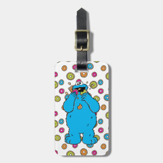 Cookie MonsterDonut Destroyer Luggage Tag