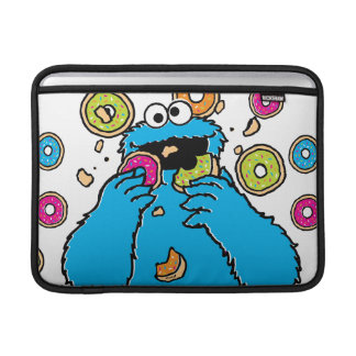 Cookie MonsterDonut Destroyer MacBook Sleeve