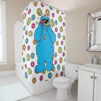 Cookie MonsterDonut Destroyer Shower Curtain